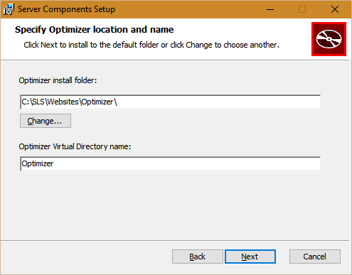 Performance DNA path and IIS virtual directory