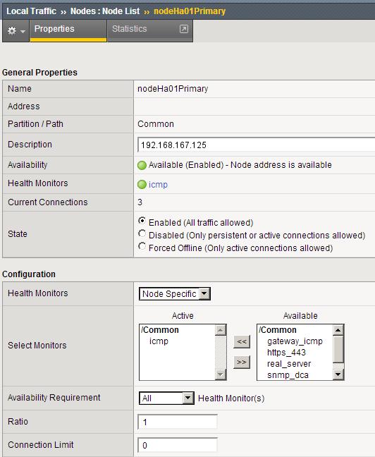 Configuring BIG-IP LTM