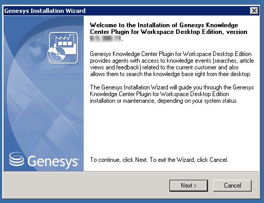 Installing The Plugin For Workspace Desktop Edition