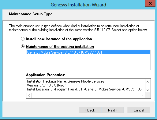 Upgrade Genesys Mobile Services