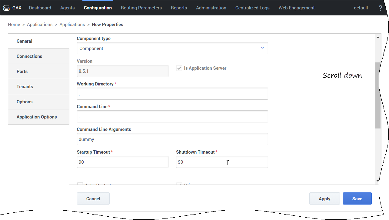 Create an Application Object