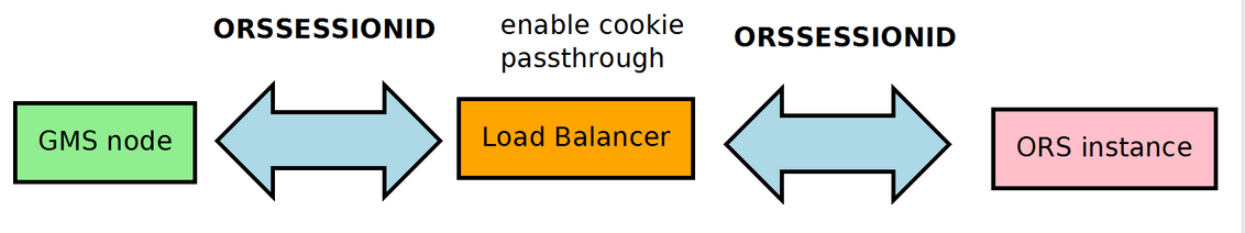 Load Balancer ORS Cookie usage